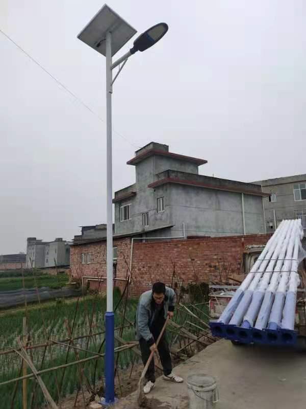 与老式路灯相比,自贡农村太阳能路灯的安装有什么优势?