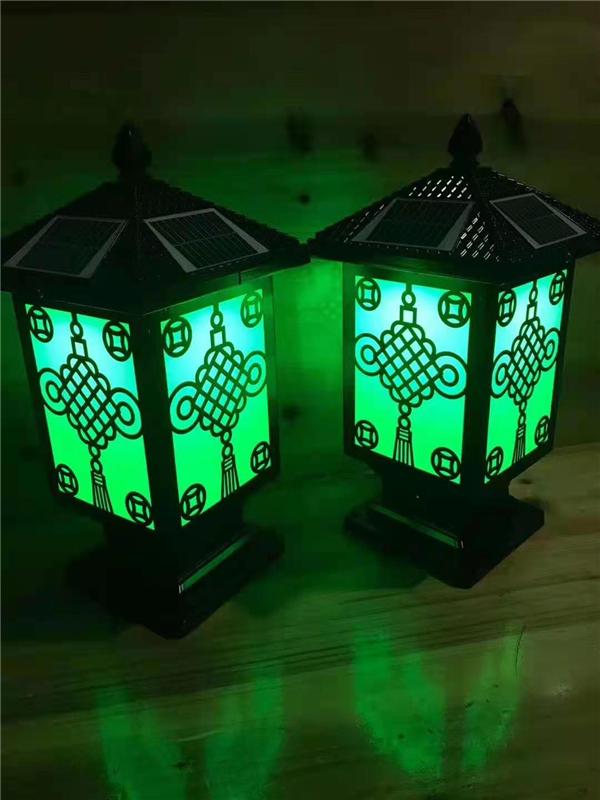 led太阳能光控庭院灯