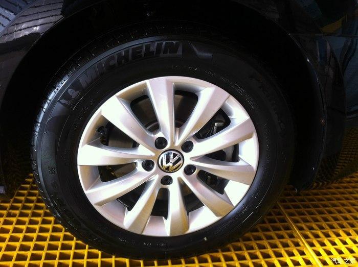 小车轮胎更换
