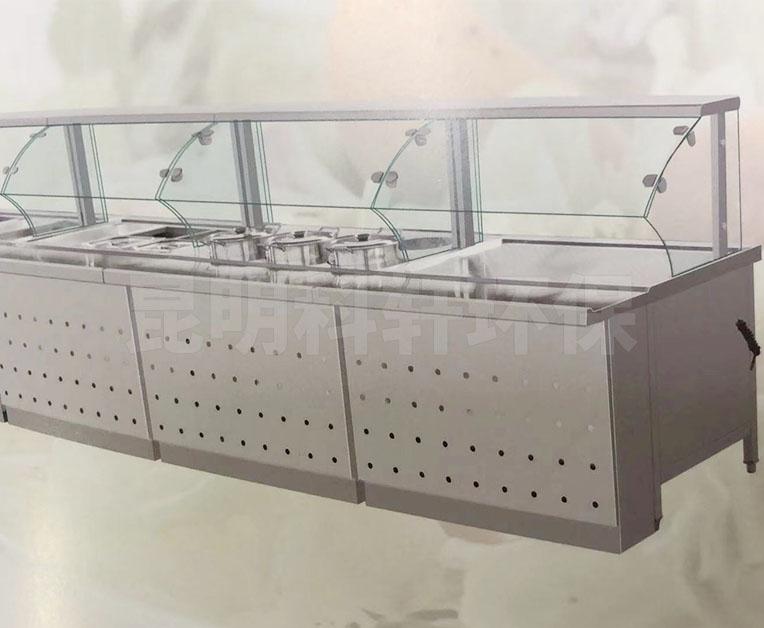 带玻璃罩柜式保温池