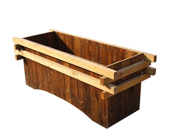 市政木塑花箱