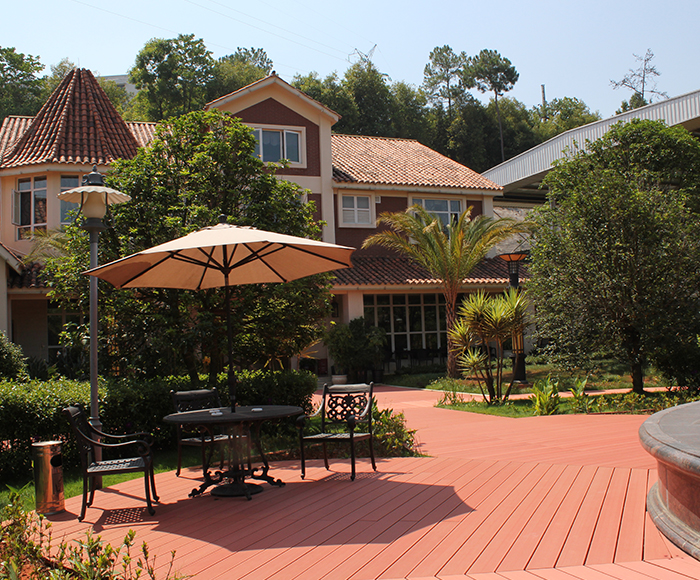 普洱市工业园区茶庄园整套木塑工程