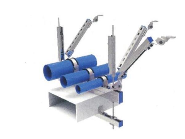 在建机电工程抗震支吊架安装技术研究
