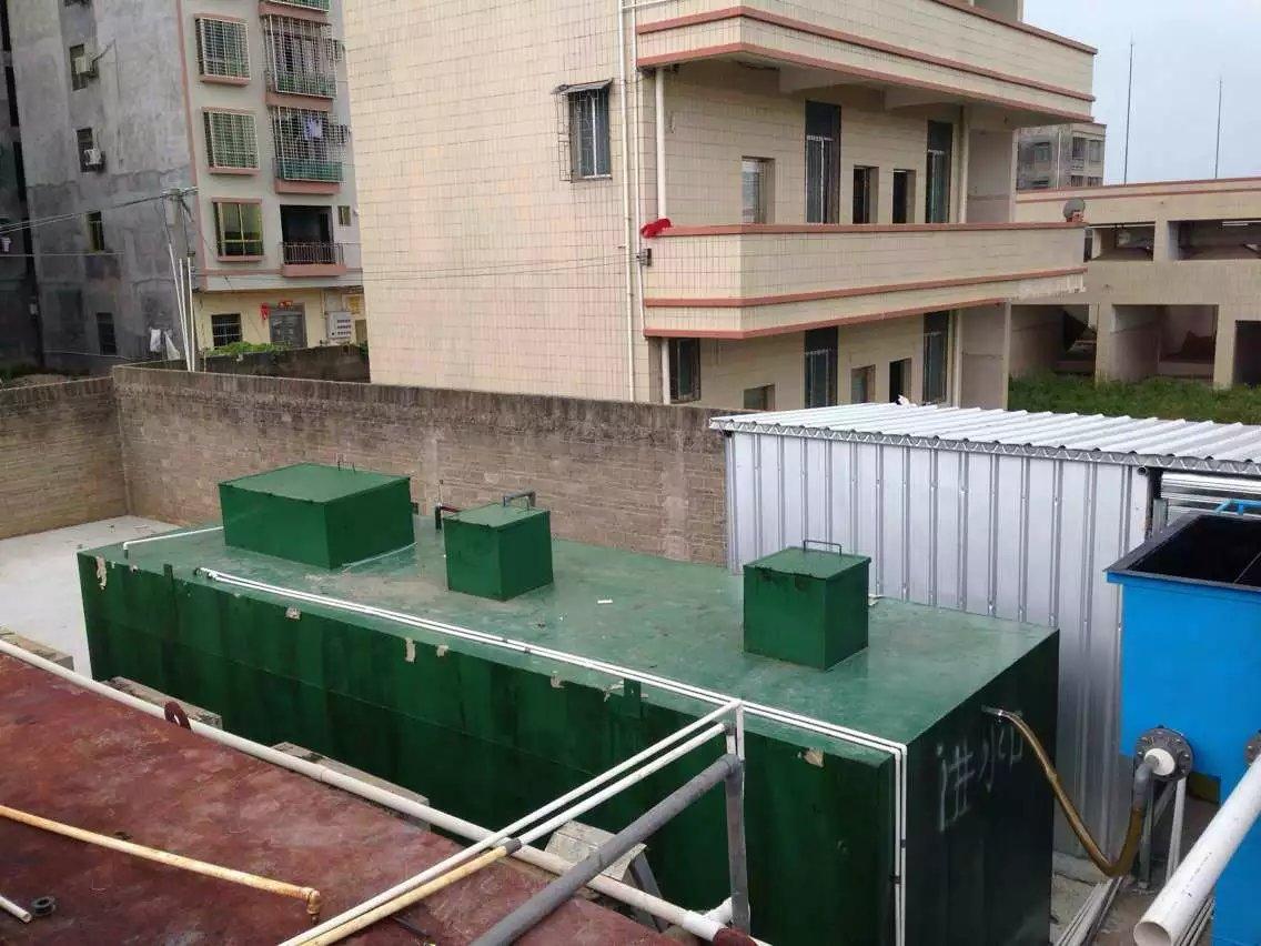 簡述生活污水處理設備