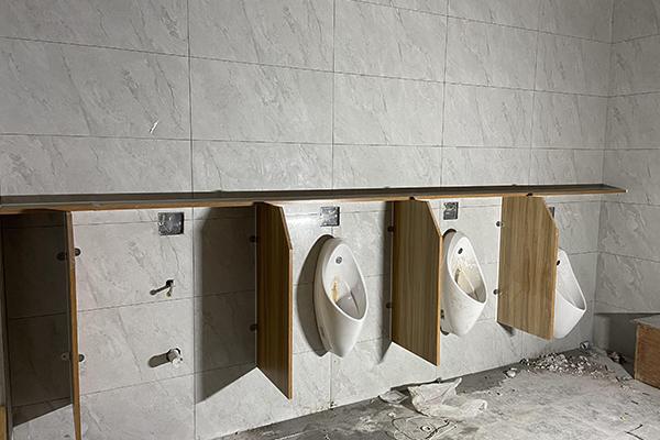 卫生间小便池隔断