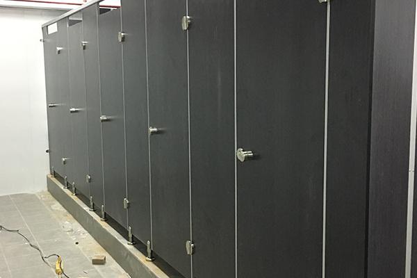 KTV公共厕所隔断