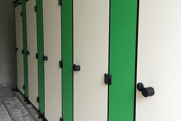 PVC发泡板厕所隔断