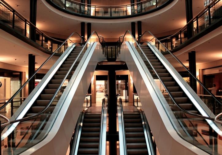 超市自动扶梯