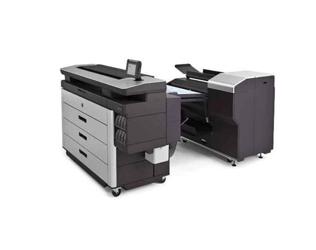 HP PageWide XL 5100 大幅面打印机+折图机