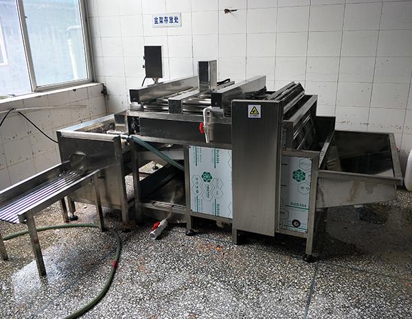 水煮蛋自动剥壳机