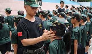 广州军事夏令营训练
