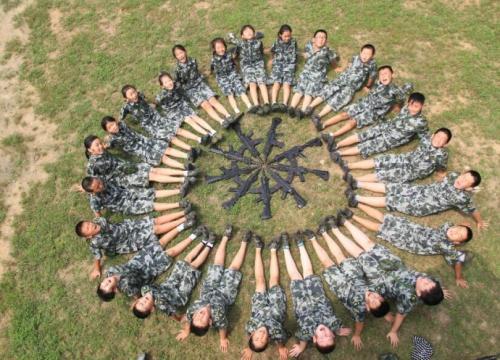 为什么要孩子参加黄埔军事夏令营