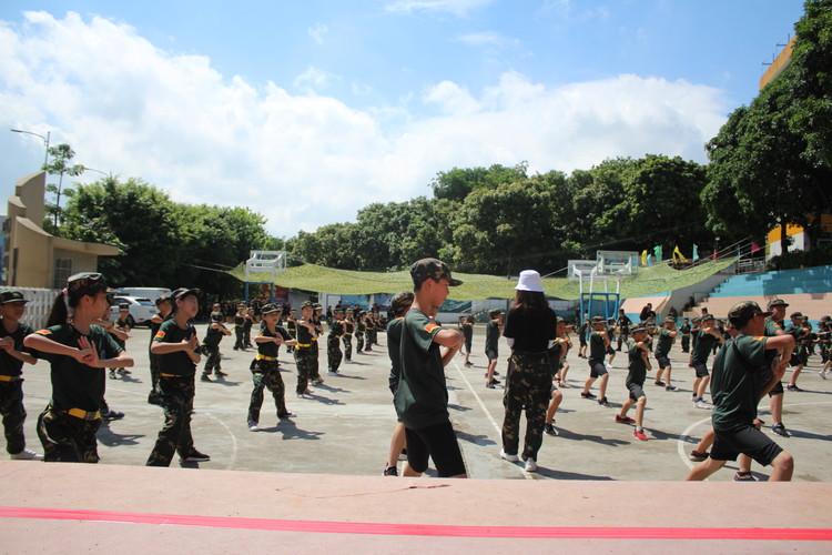 广州黄埔军事夏令营
