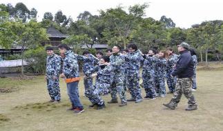 黄埔军事拓展训练