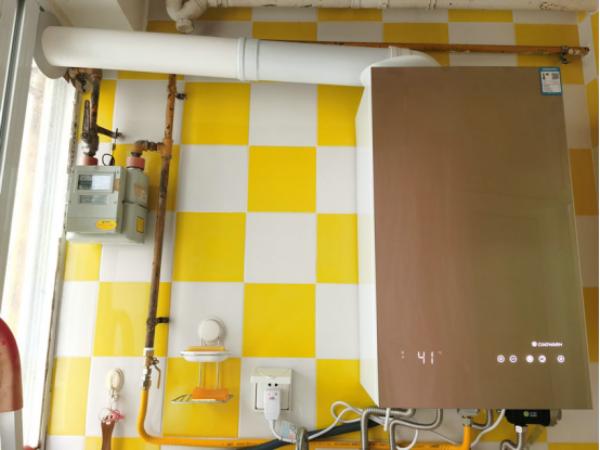成都地暖公司接到光华馨地小区黄女士安装小沃壁挂炉案例