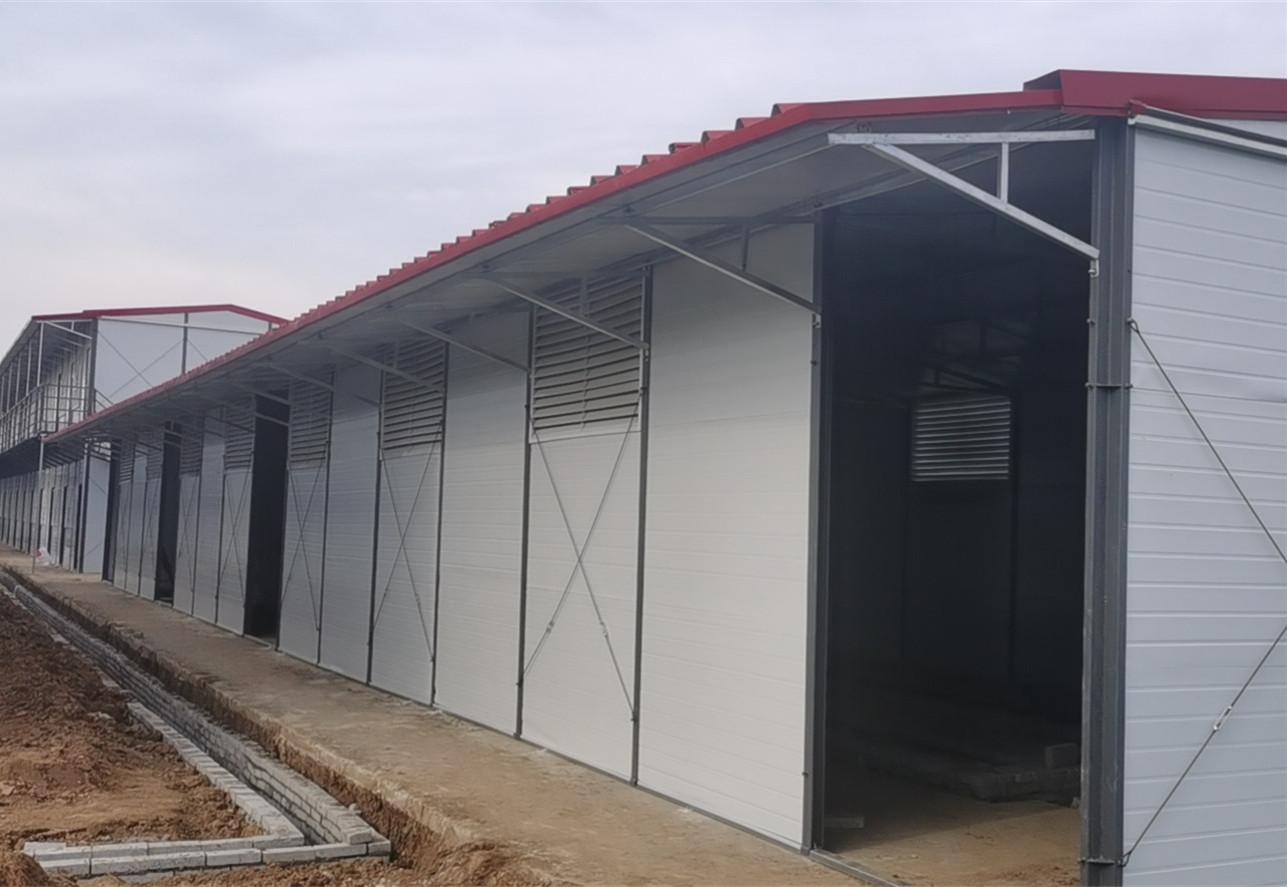 根据自己产品的大小对集装箱活动房长宽高进行测量