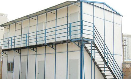 k式双层坡顶活动房