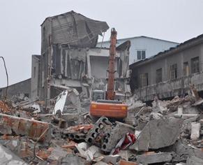 废旧厂房拆除