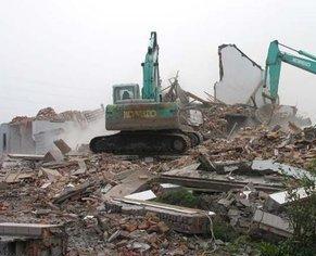 废旧化工厂拆除