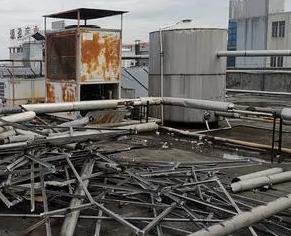 厂房废旧拆除