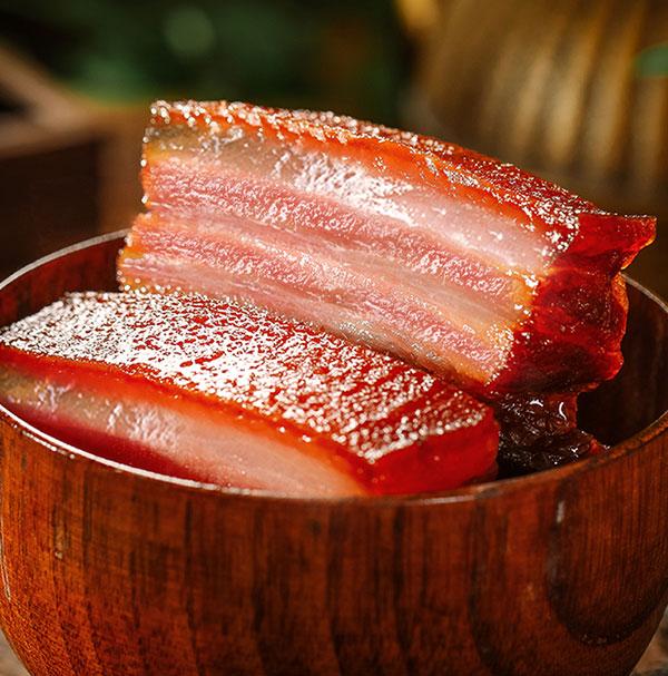 老腊肉是时间沉淀的味道