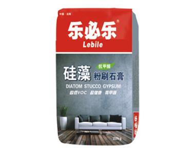 硅藻粉刷石膏