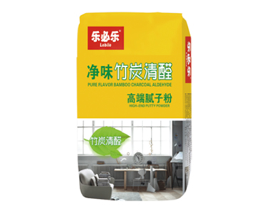 净味竹炭清醛高端腻子粉