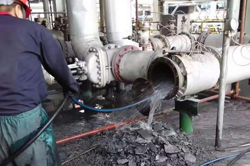 陕西长青能源化工有限公司高压水清洗
