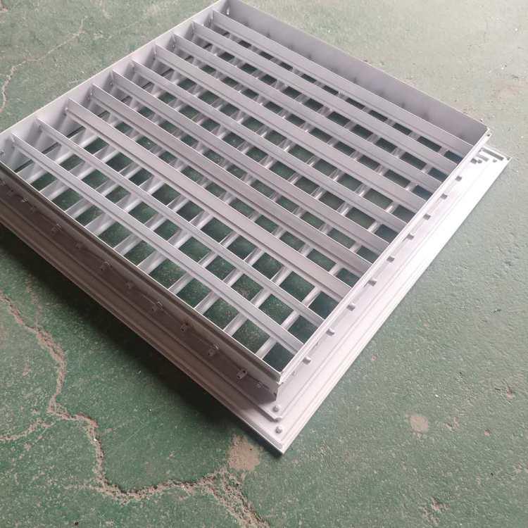 方形铝合金风口优点及适用范围