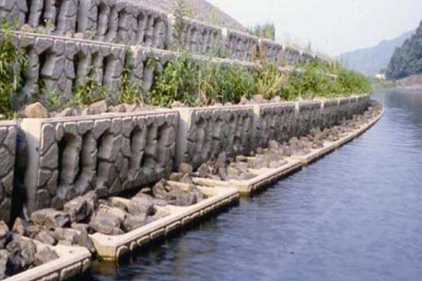 生态挡墙砌块