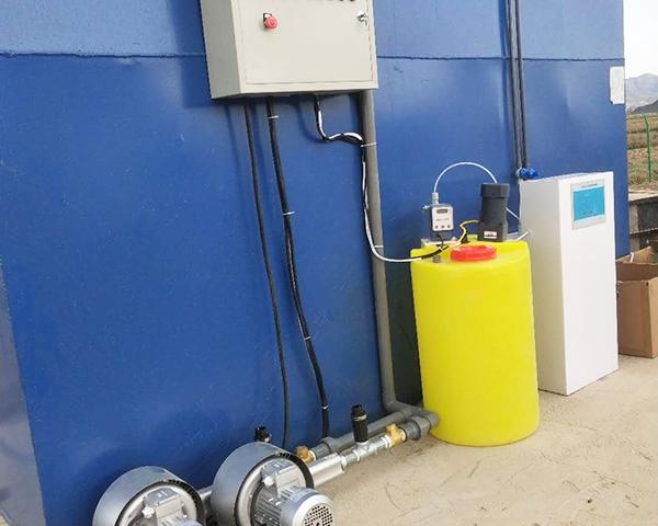 昭通彝良安装污水处理设备案例