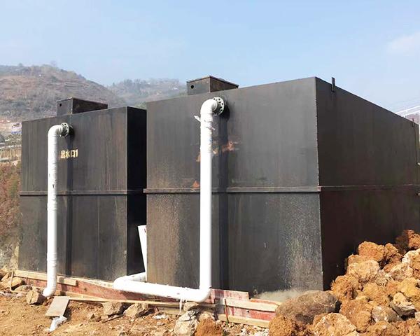 镇雄安装污水处理设备案例