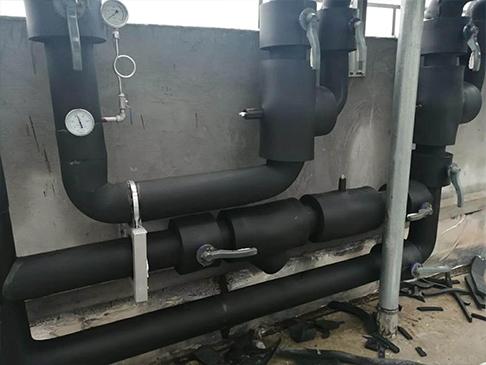 管道橡塑保温施工