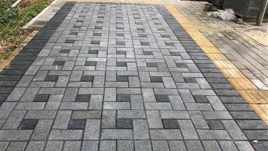 市政用仿石材透水砖