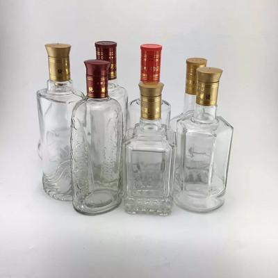 钾长石粉制作成品酒瓶