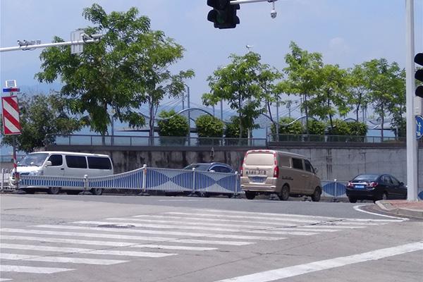 闽侯市政道路护栏