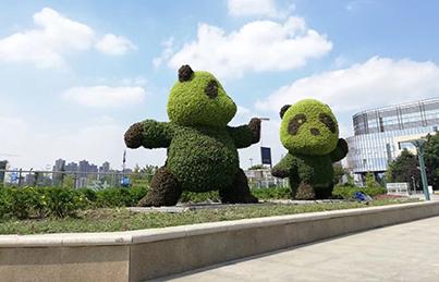 园林植物雕塑