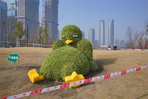 成都植物雕塑