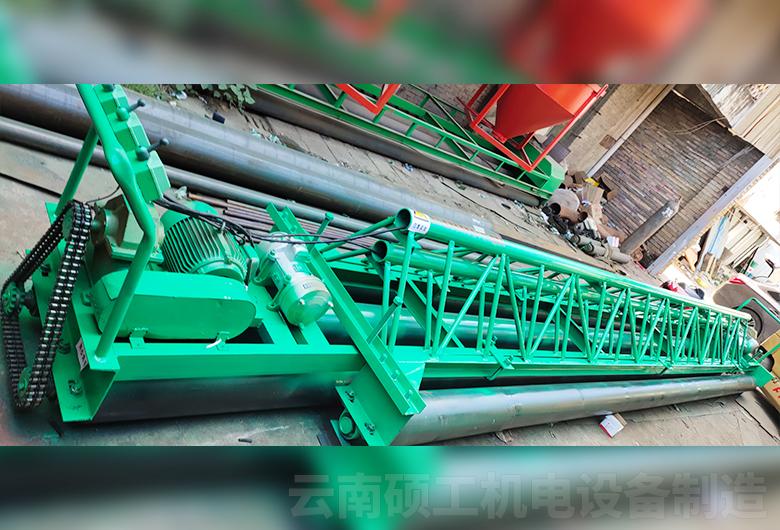 混凝土收縮式攤鋪機