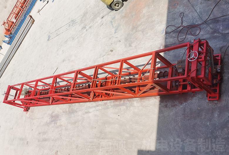 懸掛式單軸攤鋪機