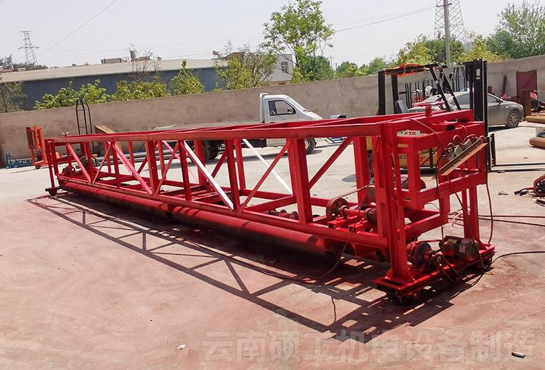 懸掛式混凝土攤鋪機