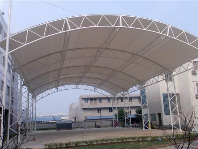 膜结构停车遮阳棚