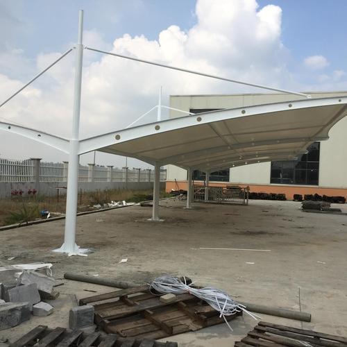 球场膜结构雨棚