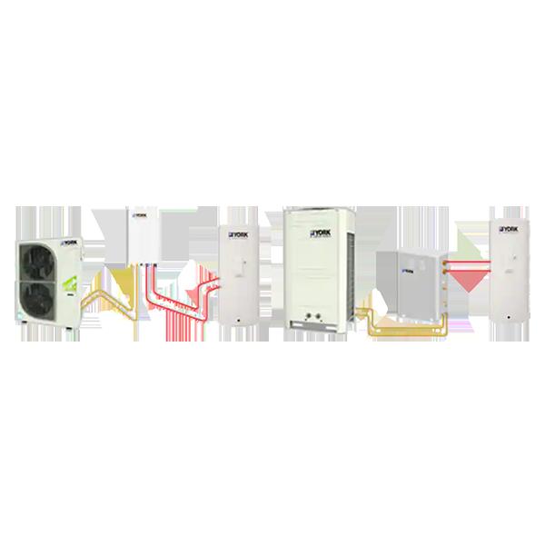 约克中央空调-风冷式冷水/热泵(热回收型)机组 YCAG-HR R410A