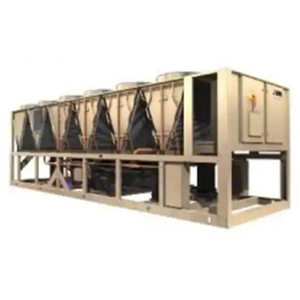 约克中央空调-变频螺杆式风冷冷水机组YVAA系列