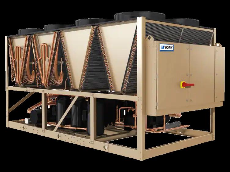 约克中央空调-YLPA涡旋式风冷冷水/热泵机组