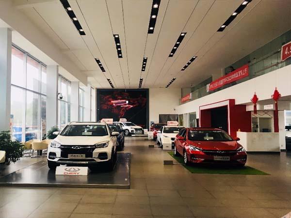 绵阳奇瑞4S店和壹零陆机订购约克中央空调设备