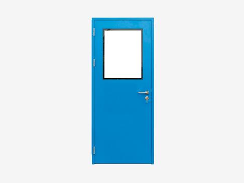 钢制净化单开门