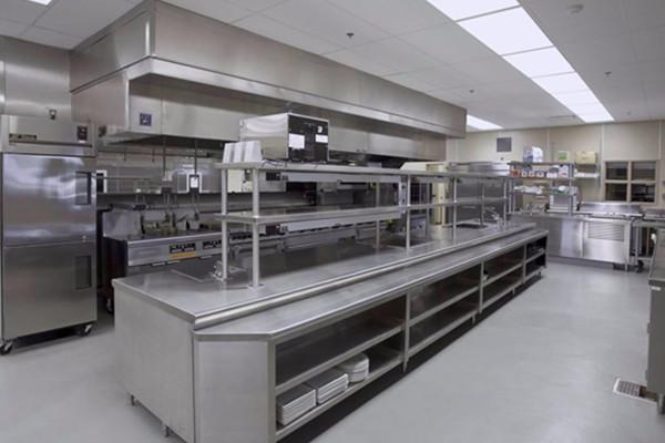 云南商用厨房设备安装实例