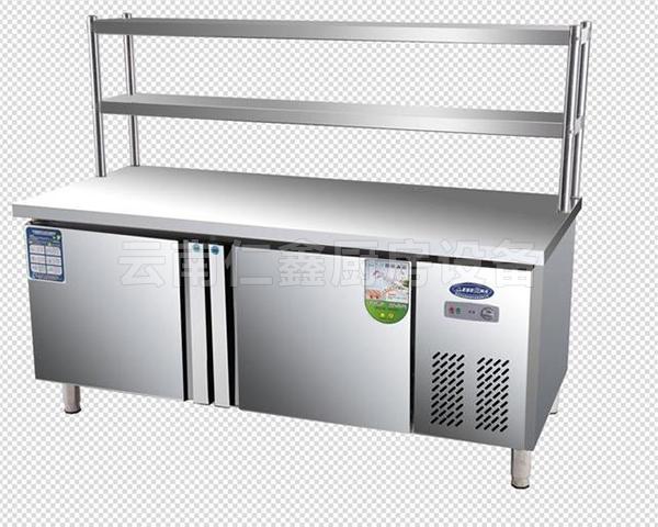 不锈钢保鲜工作台